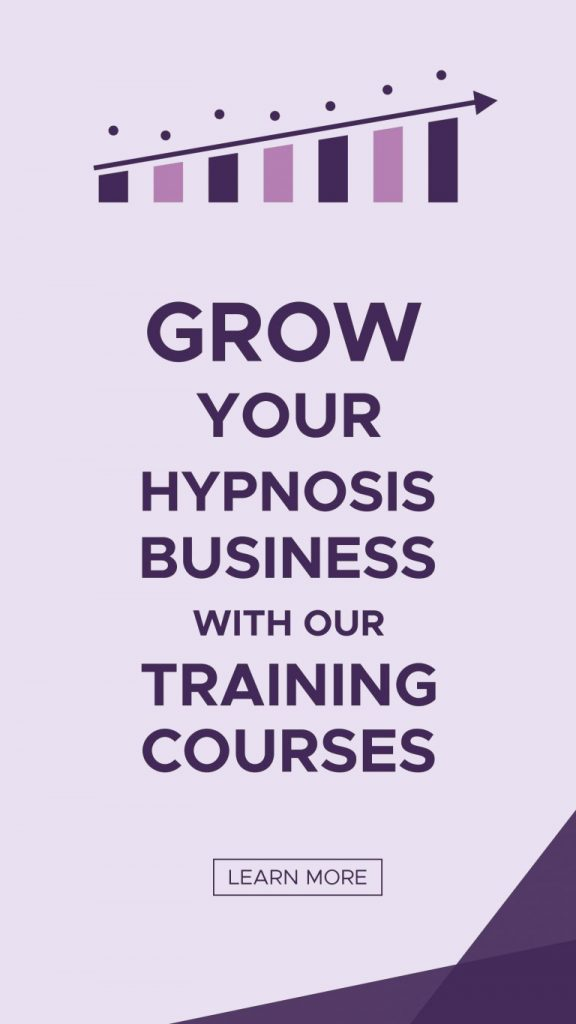 Grow your hypnosis business banner