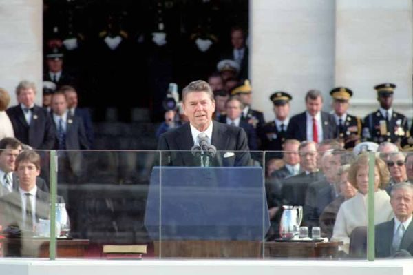 hypnotherapy metaphors ronald reagan inaugural address