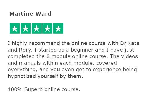 Trustpilot review - Live Online - Martine Ward