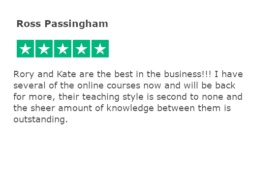 Trustpilot review - ross passingham