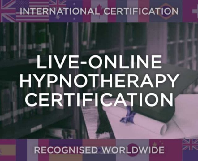 Live-Online Hypnotherapy Certification